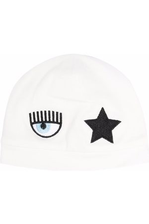 Chiara Ferragni Logo-patch star beanie