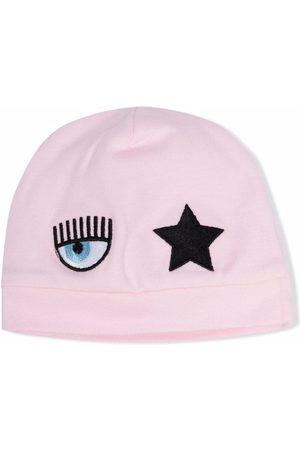 Chiara Ferragni Logo-patch hat