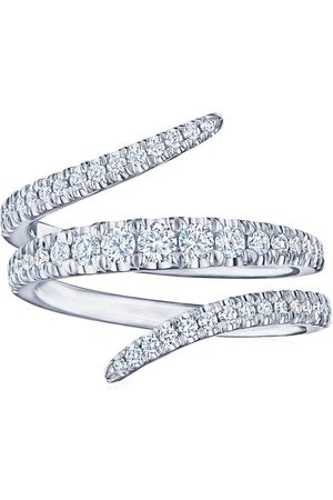 Kwiat Women Rings - 18kt white gold Vine diamond wrap ring