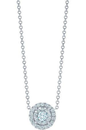 Kwiat 18kt white gold diamond Sunburst pendant
