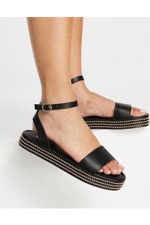 SIMMI Shoes Simmi London Arvin studded flatform sandals in