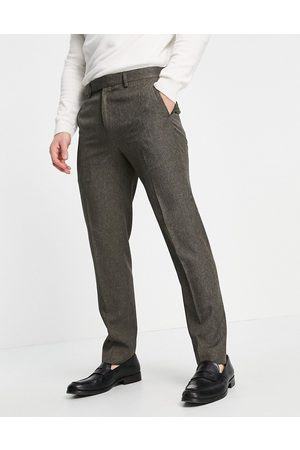 River Island Skinny suit pants in puppytooth check