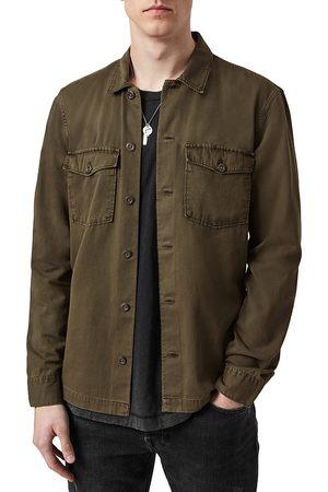 AllSaints Men Shirts - Spotter Cotton Camp Shirt