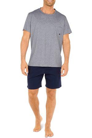 Hom Men Pajamas - Comfort Cotton Pajama Shorts