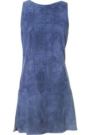 JITROIS Suede Dresses