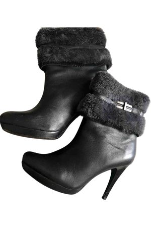 Calvin Klein Women Ankle Boots - Leather Ankle Boots