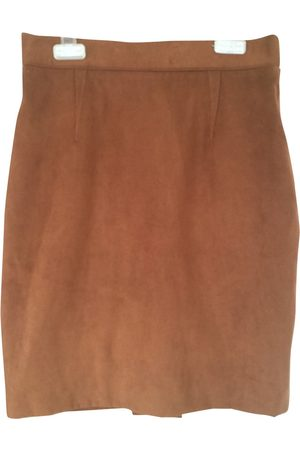 Thierry Mugler Suede Skirts
