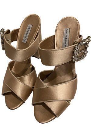 Tabitha Simmons Cloth Sandals