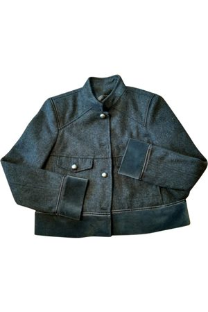 Bimba y Lola Wool Leather Jackets