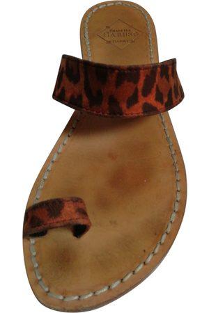 Emanuela caruso Leather Sandals