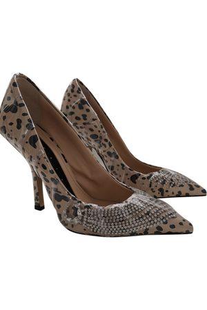 Midnight 00 Leather Heels