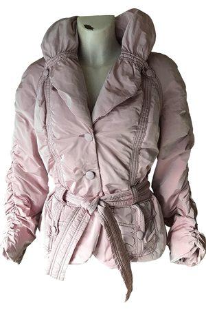 Emanuel Ungaro Polyester Leather Jackets