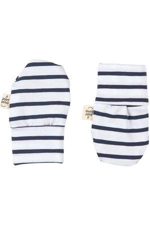 A Happy Brand Navy Mittens - Unisex - 50/56 cm - Navy - Fingerless gloves
