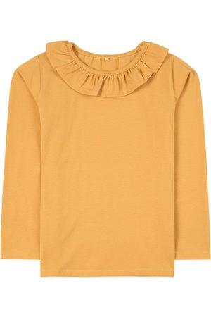 A Happy Brand Ruffle Detail T-Shirt - Unisex - 86/92 cm - - Long sleeved t-shirts