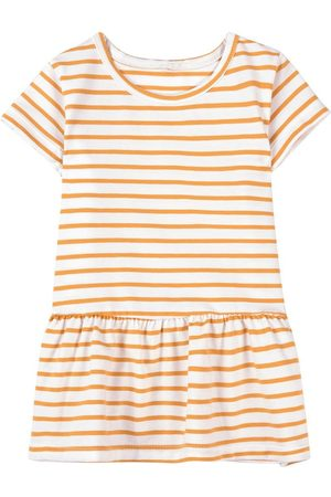 A Happy Brand Ruffle Detail Striped T-Shirt - Unisex - 86/92 cm - - Long sleeved t-shirts