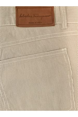 Salvatore Ferragamo Cotton Jeans