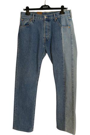 Vetements Cotton - elasthane Jeans