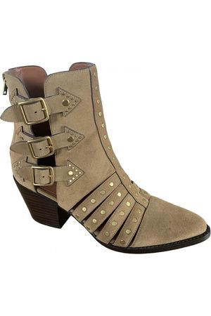 Coach Women Ankle Boots - Suede Ankle Boots