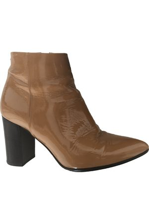 Aeyde Patent leather Ankle Boots