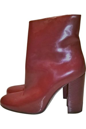 Bally Women Ankle Boots - Patent leather Ankle Boots