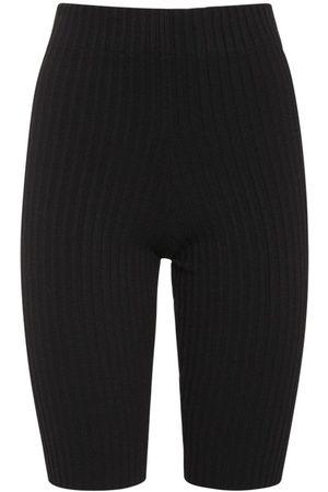 ANDREA ADAMO Viscose Blend Shorts
