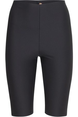 The Andamane Women Sports Shorts - Holly Cycle 80's Shiny Leggings