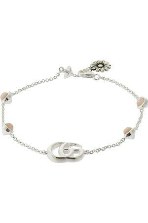 Gucci Women Bracelets - Double G Mother Of Pearl Bracelet