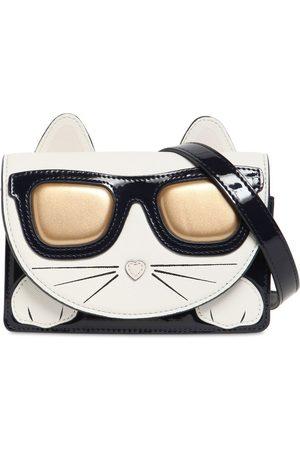 Karl Lagerfeld Choupette Faux Leather Shoulder Bag
