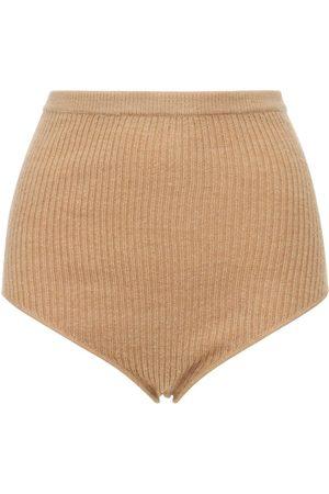 Loulou Studio Women Shorts - Arousa Wool & Cashmere Rib Knit Shorts