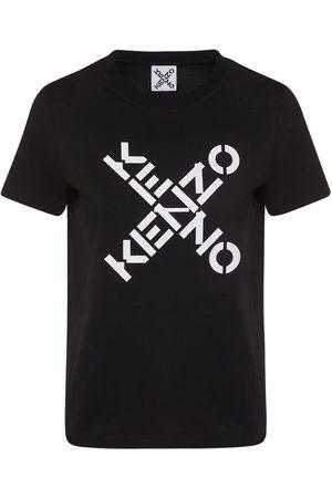 Kenzo Women Sports T-shirts - Logo Sport Classic Cotton T-shirt