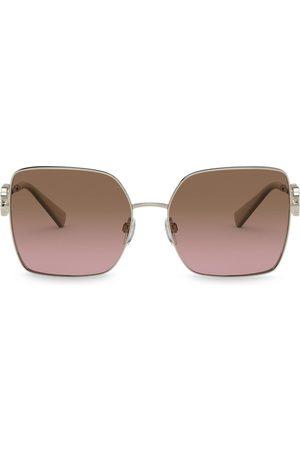 VALENTINO VLOGO square-frame sunglasses
