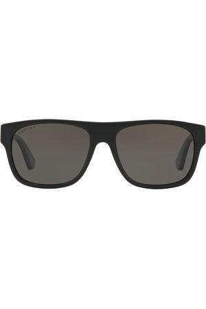 Gucci GG0341S square-frame sunglasses - Grey