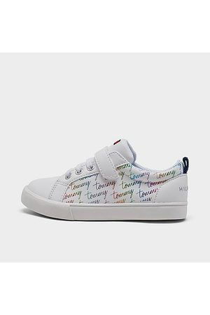 Tommy Hilfiger Casual Shoes - Girls' Toddler Ashton Script Casual Shoes in / Size 4.0 Leather