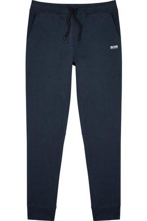 HUGO BOSS Skeevo navy jersey sweatpants