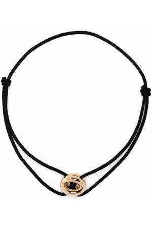 Le Gramme Bracelets - 18kt yellow 3g Entrelacs cord bracelet