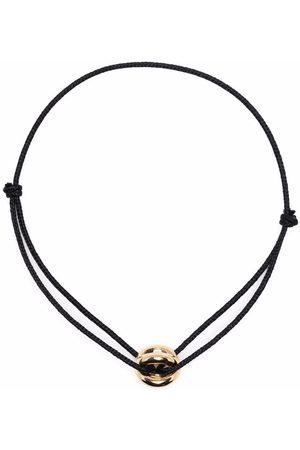 Le Gramme 18kt yellow Entrelacs cord bracelet