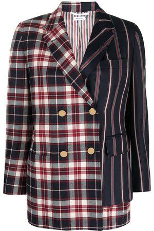 Thom Browne Asymmetric panelled blazer
