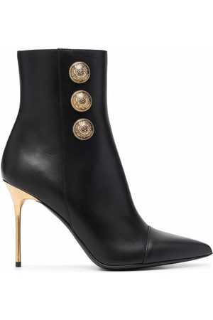 Balmain Roni leather ankle boots