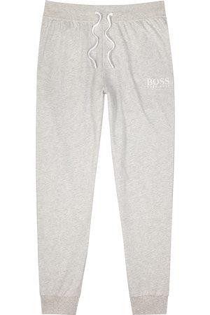 HUGO BOSS Men Sports Pants - Authentic grey cotton sweatpants