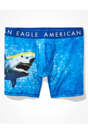 American Eagle Outfitters O Shark 6 Classic Boxer Brief Men's XS