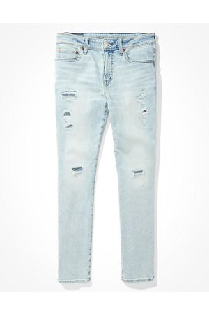 American Eagle Outfitters AirFlex 360 Patched Slim Jean Men's 26 X 28