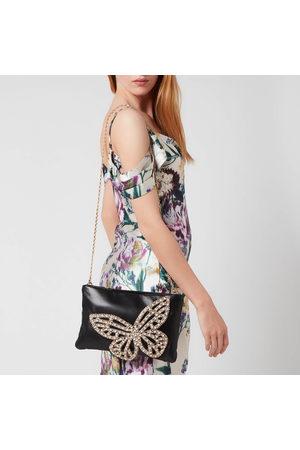 SOPHIA WEBSTER Women's Flossy Crystal Clutch Bag
