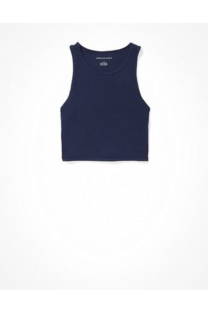 American Eagle Outfitters High-Neck Crop Tank Top Women's XS