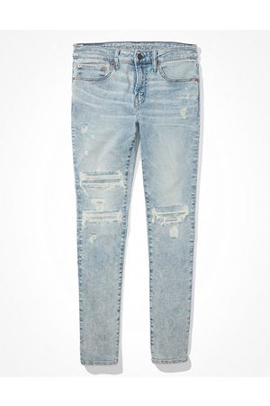 American Eagle Outfitters AirFlex 360 Patched Skinny Jean Men's 26 X 28