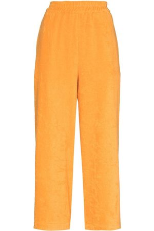 TERRY Capri cropped trousers