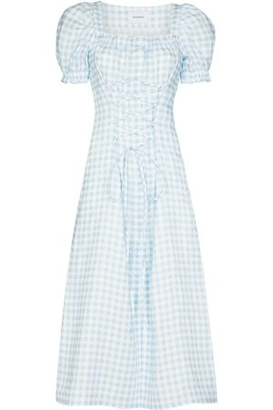Sleeper Marquise gingham dress