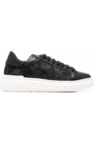BALDININI Floral embroidered sneakers