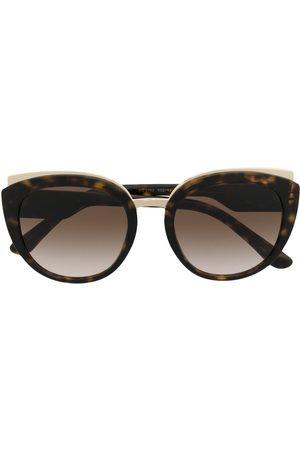 Dolce & Gabbana Print family round-frame sunglasses