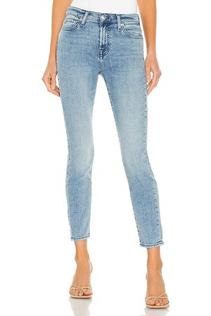 7 for all Mankind The Ankle Skinny in Blue.