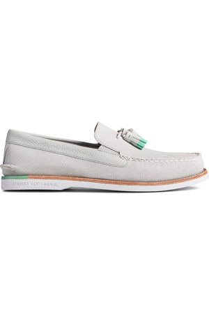 Sperry Top-Sider Men's Sperry Authentic Original Tassel Loafer Grey/ , Size 7M